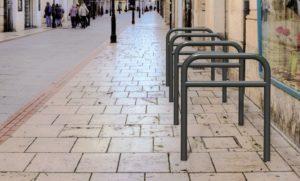 Arceau vélo gris moyen